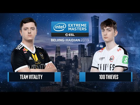 CS:GO - 100 Thieves Vs. Team Vitality [Mirage] Map 1 - Semifinals - IEM Beijing-Haidian 2019