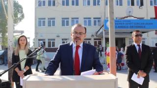 29 Ekim Cumhuriyet Bayramı Kaymakam Köken in Konuşması