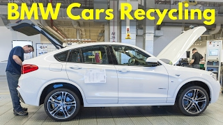 BMW Cars Recycling and Disposal - Fans Will Cry