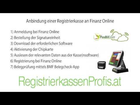 Anbindung Registrierkasse an Finanz Online