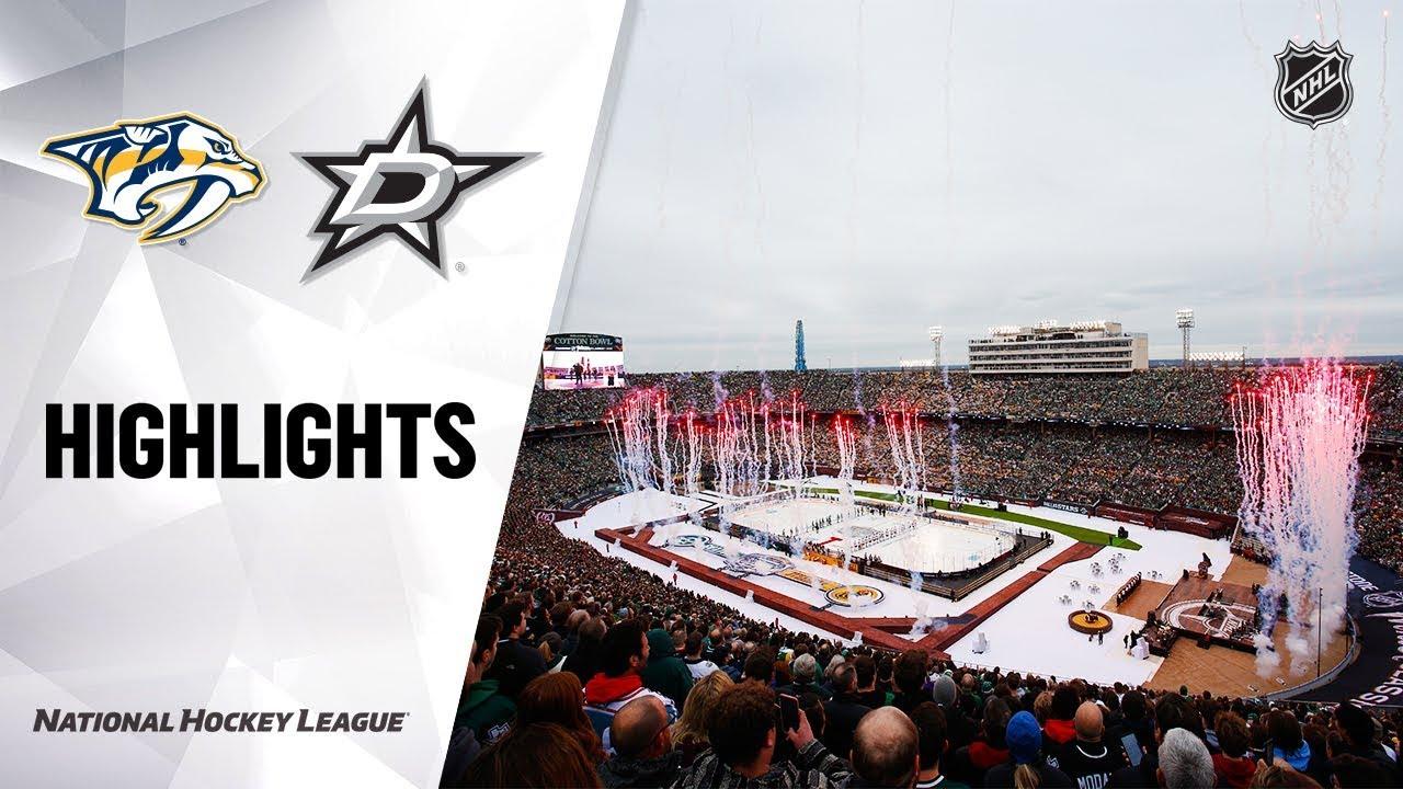 NHL Highlights | Predators @ Stars 01/01/20