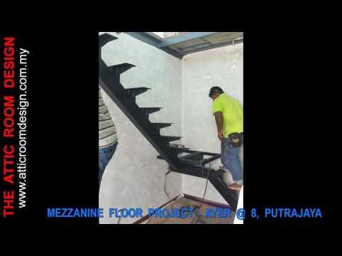 THE ATTIC ROOM DESIGN - Mezzanine Floor Project - Ayer @ 8, Putrajaya