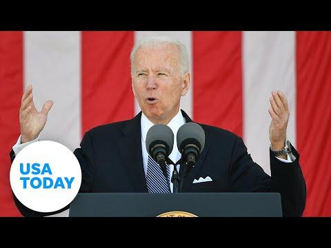 President Joe Biden visits Tulsa, Oklahoma | USA TODAY