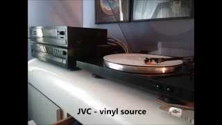 JVC RX-150 vs. Sony STR-D315 stereo receivers with phono ins comparison