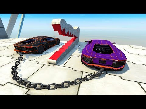 High Speed Jump Crashes BeamNG Drive Compilation #14 (BeamNG Drive Crashes)