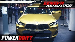 BMW X2 - Smallest kid on the block : Geneva Motor Show 2018 : PowerDrift