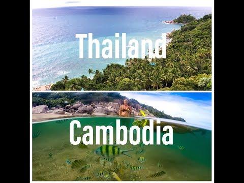 Thailand Cambodia 2017 GoPro - Bangkok - Angkor Wat - Koh Samui - Koh Tao