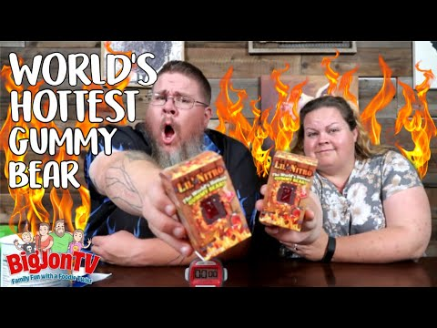 James Burlander - Do You Enjoy Spicy Things? How About The World's Hottest Gummy Bear!?