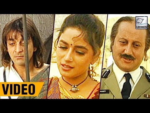 Bollywood Flashback: Sanjay Dutt's Khalnayak RARE Video And Unseen Interview | Lehren Diaries