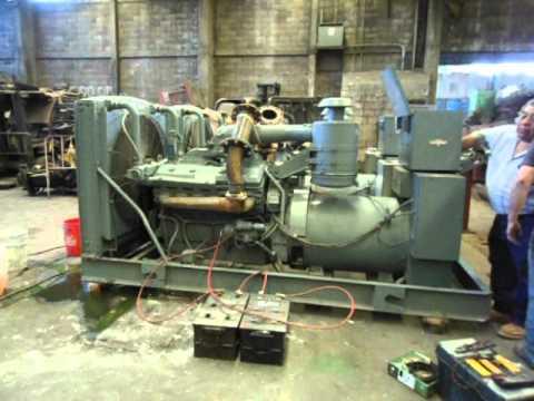Generador de luz detroit diesel 250kw motor marathon - Generador de luz ...