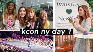 First Day at KCON New York (New Jersey) + Get Unready With Me!