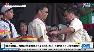 #Penafrancia2019: Regional Scouts Parade and DBC/DLC/DXMC Competition