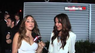 Robin Antin on Nicole Scherzinger and The Pussycat Dolls interviewed at 2014 Maxim Hot 100 Party