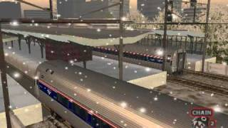 MSTS: Amfleet IIs, Silver Star, and AI Train Meets