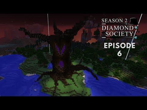 Diamond Society, Episode 6. A big custom Tree.