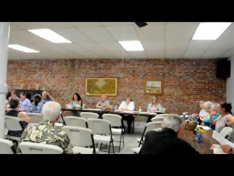Garfield County Hospital Town Hall Meeting  Part 1