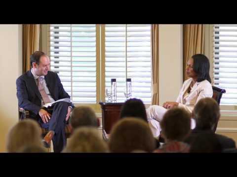 Condoleezza Rice Talks about Tony Blair
