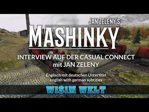 Interview mit Jan Zeleny über Mashinky