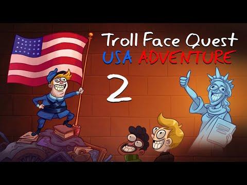 """Игра """"Троллфейс Квест: США 2"""" (Troll Face Quest: USA 2) - прохождение"""