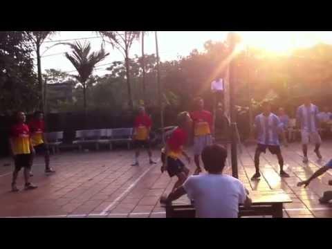 Vô địch bóng chuyền hơi Ba Làng - Quế Nham - Tân Yên - Bắc Giang hiệp 1&2