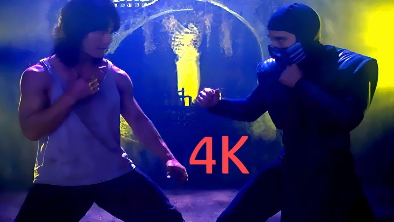 Лю Кан против Рептилии. Смертельная Битва.Liu Kang vs Reptile.Mortal Kombat.