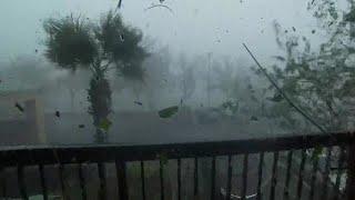 סופה ה הוריקן מייקל פלורידה העיירה פנמה סיטי ארה