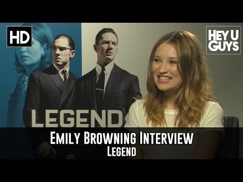 Emily Browning - Legend Exclusive Interview