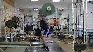 Ксенофонтов Матвей, 14 лет, собст вес 42 Рывок 41 кг+пр