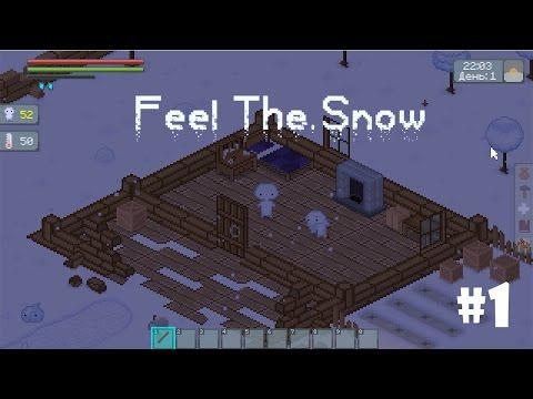 Feel The Snow #1 - Новая пиксельная RPG-песочница