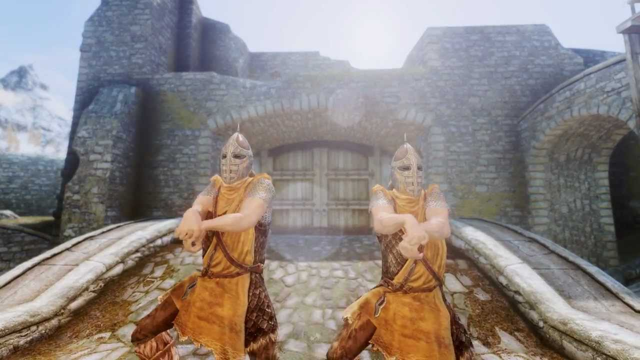 how to dance in skyrim