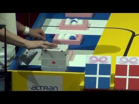 2013 - RubikTeam - Prix et Démonstration - Coupe de France de robotique 2013