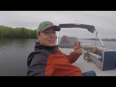 Fishing On Lake George For Big Bass & Lake Trout