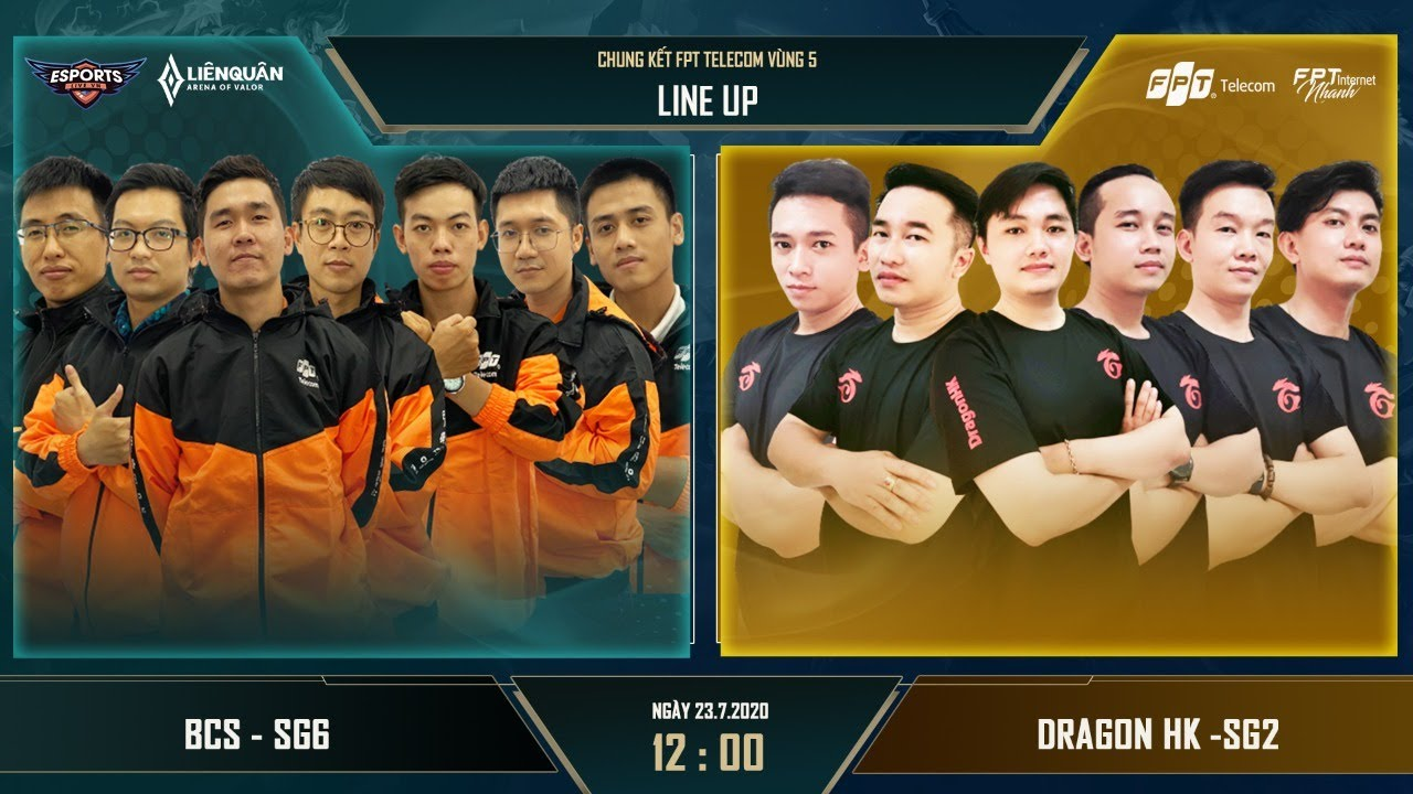 Chung kết BCS - SG6 vs DRAGON HK - SG2 (Giải Liên quân nội bộ FPT)