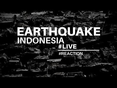 See Live Earthquake In Indonesia!