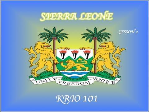 Krio words and phrases - Visit Sierra Leone (VSL TRAVEL)