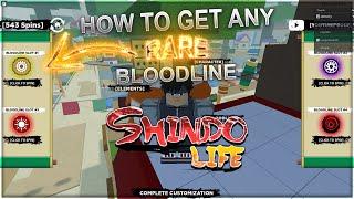 [CODE] HOW TO GËT ANY *RARE* BLOODLINE GURANTEED (100% CHANCE) Shindo Life Codes | Shindo Life