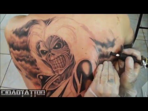 Iron Maiden- Killers tattoo bycidao