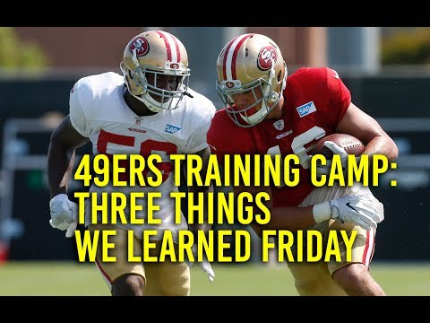 49ers training camp: Rookie class looks sharp, including Reuben Foster who overcomes injury scare