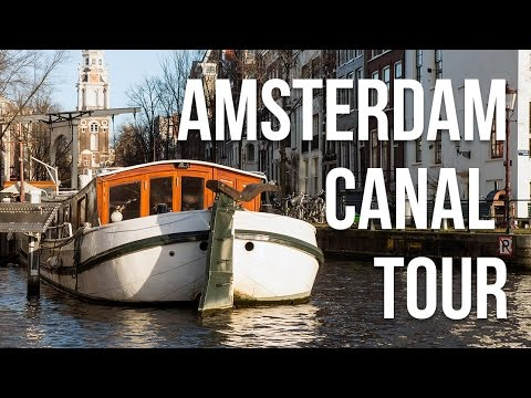 Amsterdam Canal Cruise [4K]