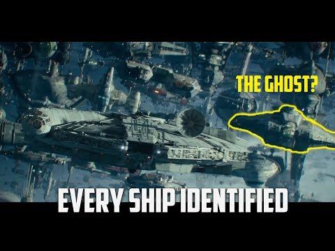 All Ships Explained | Rise of Skywalker Final Trailer
