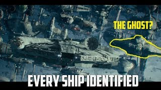 All Ships Explained | Rise of Skywalker Final Trailer