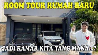 ROOM TOUR RUMAH BARU HARRIS VRIZA, JADI KAMAR KITA YANG MANA...? - YouTube