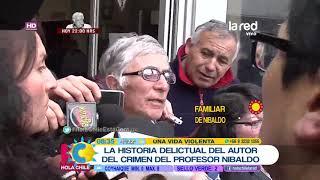 La historia del autor del crimen del profesor Nibaldo