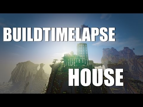 Minecraft : BUILD TIMELAPSE #1 : MODERN HOUSE