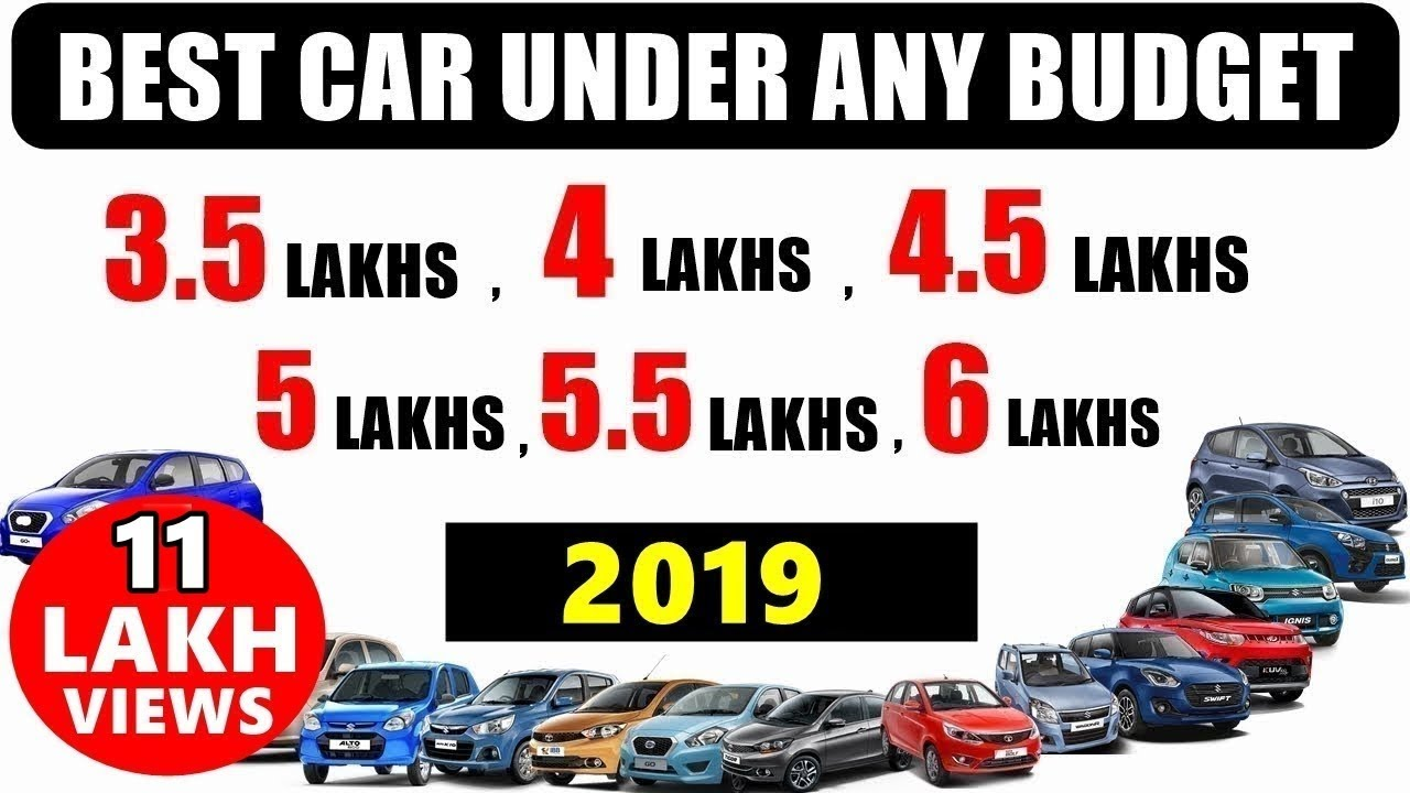 Best car under any on-road budget b/w 3.5 to 6 lakhs 2018-19 | best car under 5 lakhs | asy