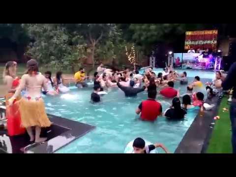 Pool Party with international Artist at Ramaya Farm House in Delhi