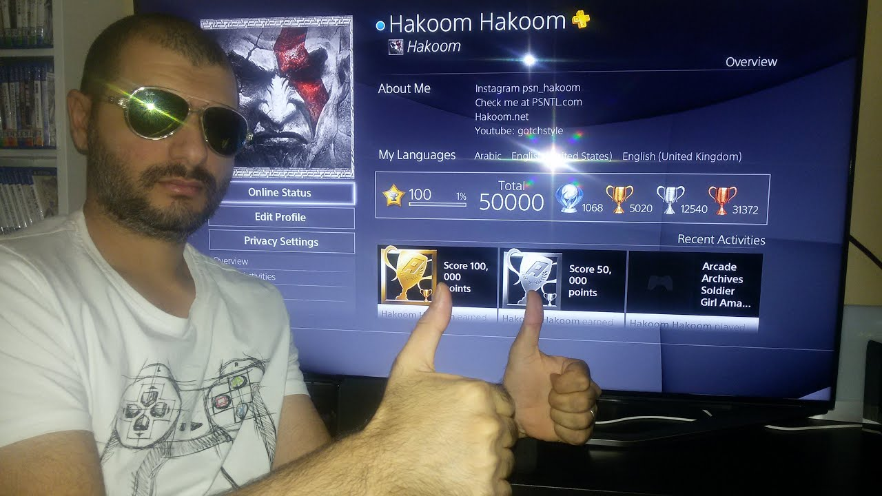 50000 Trophies Unlocked by Hakoom (1st worldwide & WR)