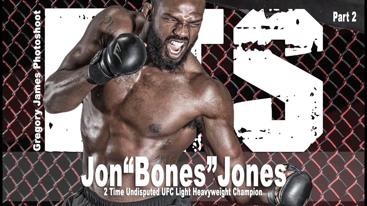 "Gregory James BTS Part 2 | THE PHOTOSHOOT  UFC World Champion  Jon ""Bone"" Jones"