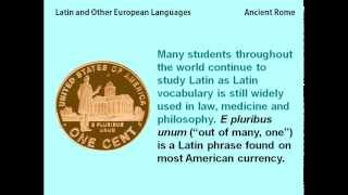 Latin and Other European Languages - reading lesson for kids