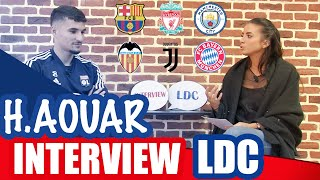 VIDEO: L'interview Ligue des champions avec Houssem Aouar | OL By Emma
